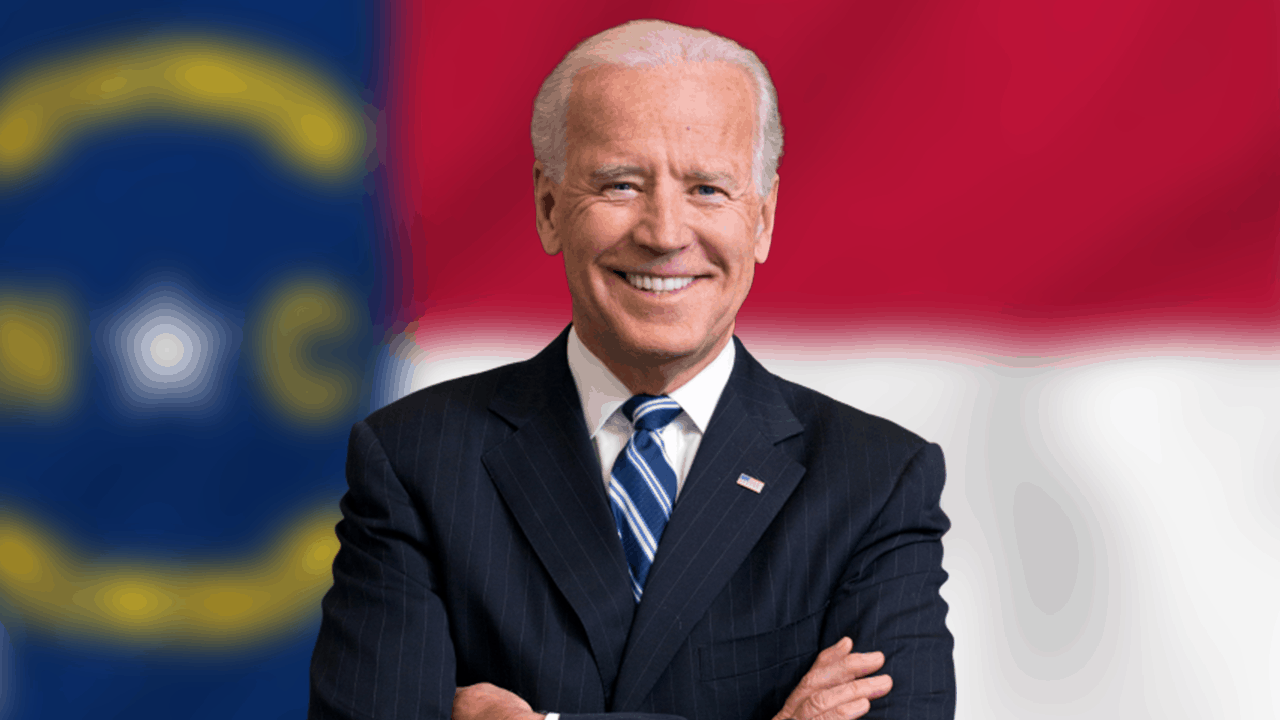 Joe Biden NC Flag